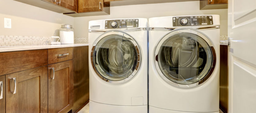 how to clean washer dryer