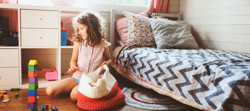 Helping Your Kids Get and Keep Their Rooms Clean and Organized